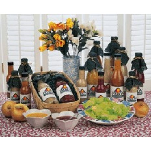 3 Bottle Dressing Gift Basket